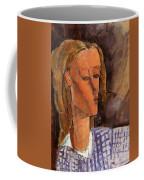 Portrait Of Beatrice Hastings 1916 Coffee Mug