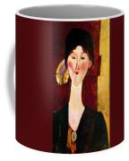 Portrait Of Beatrice Hastings Before A Door 1915 Coffee Mug