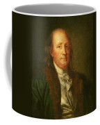 Portrait Of Benjamin Franklin Coffee Mug