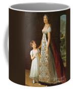 Portrait Of Caroline Murat With Her Daughter Coffee Mug