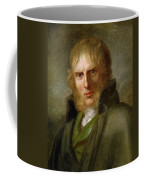 portrait of Caspar David Friedrich Coffee Mug