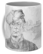 Portrait Of Caspar Tower And A River Landscape 1520 Coffee Mug