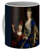 Portrait Of Catherine Coustard Coffee Mug by Nicolas de Largilliere