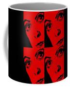 Portrait Of Catherine Pop Art Design Coffee Mug