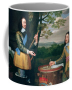 Portrait Of Charles I And Sir Edward Walker Coffee Mug