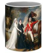 Portrait Of Colonel Fitch And His Sisters Coffee Mug