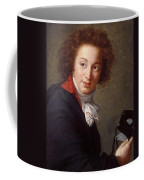 Portrait Of Count Grigory Chernyshev With A Mask In His Hand     Lisabeth Louise Vige Le Brun Coffee Mug