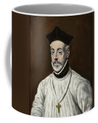 Portrait Of Diego De Covarrubias Y Leiva Coffee Mug