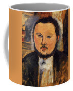 Portrait Of Diego Rivera 1914 Coffee Mug