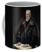 Portrait Of Dr. Francisco De Pisa Coffee Mug