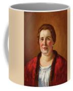 Portrait Of Ekaterina Ivanovna Kogan Coffee Mug