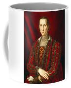 Portrait Of Eleanora Di Toledo Coffee Mug