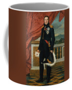 Portrait Of French Politician And Soldier Etienne Maurice Gerard Coffee Mug