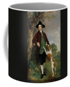 Portrait Of George Venables Vernon Coffee Mug by Thomas Gainsborough