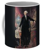 Portrait Of George Washington Coffee Mug by Joes Perovani