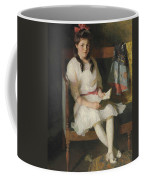 Portrait Of Gertrude Russell Coffee Mug