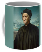 Portrait Of Girolamo Benivieni Coffee Mug