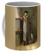 Portrait Of Gottlieb Christian Heigelen As A Hunter Coffee Mug