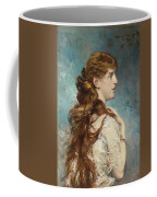 Portrait Of Harriet Valentine Coffee Mug