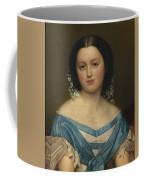 Portrait Of Henriette Mayer Van Den Bergh, At And By Jozef Van Lerius Coffee Mug