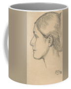 Portrait Of Hortense Valpincon Coffee Mug by Edgar Degas