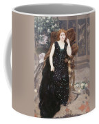 Portrait Of Jane Hading , Alfred Roll Coffee Mug
