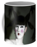 Portrait Of Japanese Model  Coffee Mug