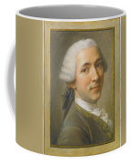 Portrait Of Jean Claude Gaspard Coffee Mug