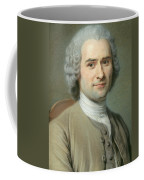 Portrait Of Jean Jacques Rousseau Coffee Mug