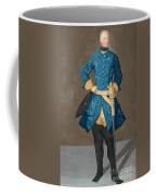 Portrait Of King Karl Xii Of Sweden Coffee Mug