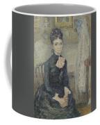 Portrait Of Leonie Rose Charbuy-davy Paris  March  April 1887 Vincent Van Gogh 1853  1890 Coffee Mug