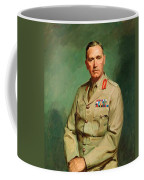 Portrait Of Lieutenant - General The Honorable Sir Edmund Herring Coffee Mug