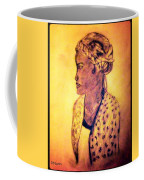 Portrait Of Lovely African Woman Coffee Mug