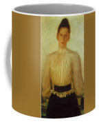 Portrait Of Maria Tolstaya Leo Tolstoy Daughter Coffee Mug