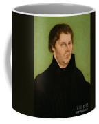 Portrait Of Martin Luther Coffee Mug