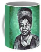 Portrait Of Maya Angelou Coffee Mug