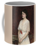 Portrait Of Miss Claire Kenworthy Coffee Mug by John William Waterhouse