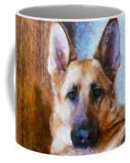 Portrait  Of My Friend 2015  Coffee Mug