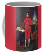Portrait Of Napolan Bonaparte The First Council 1804 Coffee Mug