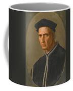 Portrait Of Piero Soderini Half Length Wearing A Black Coat And A Black Hat Coffee Mug
