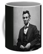 Portrait Of President Abraham Lincoln Coffee Mug by International  Images