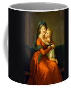 Portrait Of Princess Alexandra Golitsyna And Her Son Piotr Coffee Mug