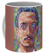 Portrait Of Salvador Dali Coffee Mug
