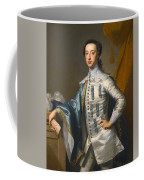 Portrait Of Sir James Lowther 1st Earl Of Lonsdale Three Quarter Length Holding A Mask In His Right  Coffee Mug
