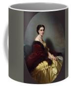Portrait Of Sophia Petrovna Naryshkina Franz Xavier Winterhalter Coffee Mug