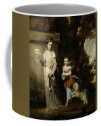 Portrait Of The Ladies Amabel And Mary Jemima Yorke Coffee Mug