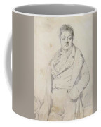 Portrait Of The Painter Charles Thevenin Director Of The Academy Of France In Rome Coffee Mug