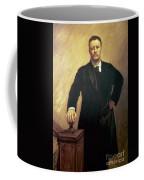 Portrait Of Theodore Roosevelt Coffee Mug by John Singer Sargent