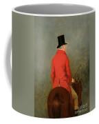Portrait Of Thomas Cholmondeley Coffee Mug by Henry Calvert