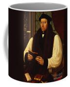 Portrait Of Thomas Cranmer Coffee Mug